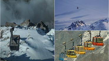 Wyciągi narciarskie mają dowieźć nas na stok i teoretycznie dopiero tam zaczyna się nasza przygoda. Niektóre jednak są tak niesamowite, że sama przejażdżka jest nie lada przeżyciem. To tylko parę minut podróży, ale wrażenia zostają na dłużej. Imponujące technicznie, zawieszone nad białymi pustkowiami czy też pośród groźnie wyglądających skał - zobaczcie 10 najbardziej niesamowitych wyciągów i kolejek narciarskich na świecie.