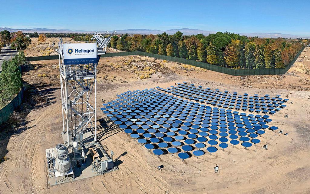 Startup Heliogen opracował rewolucyjny pomysł dla energii słonecznej