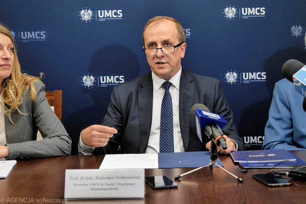 Radosław Dobrowolski, rektor UMCS