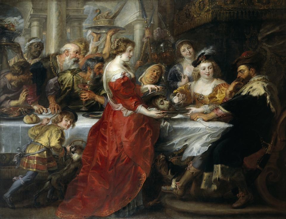 'The Feast of Herod', Peter Paul Rubens