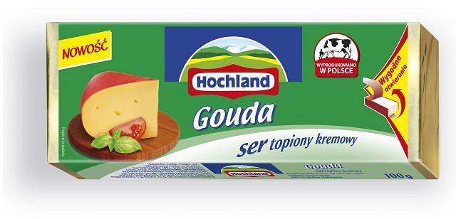 Hochland Gouda bloczek topiony
