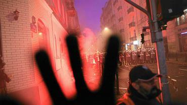 Wzdłuż trasy Marszu Niepodległości doszło do starć