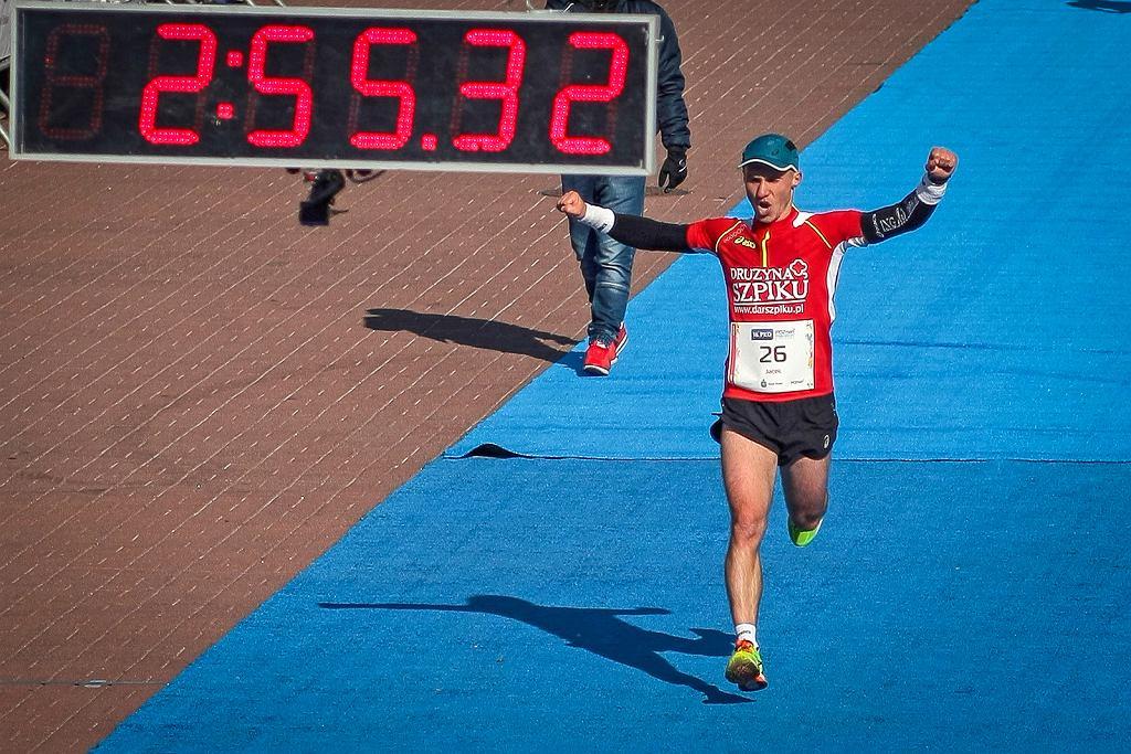 Mezo na mecie Poznań Maraton