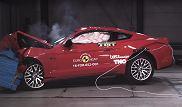 Testy zderzeniowe Euro NCAP - Ford Mustang