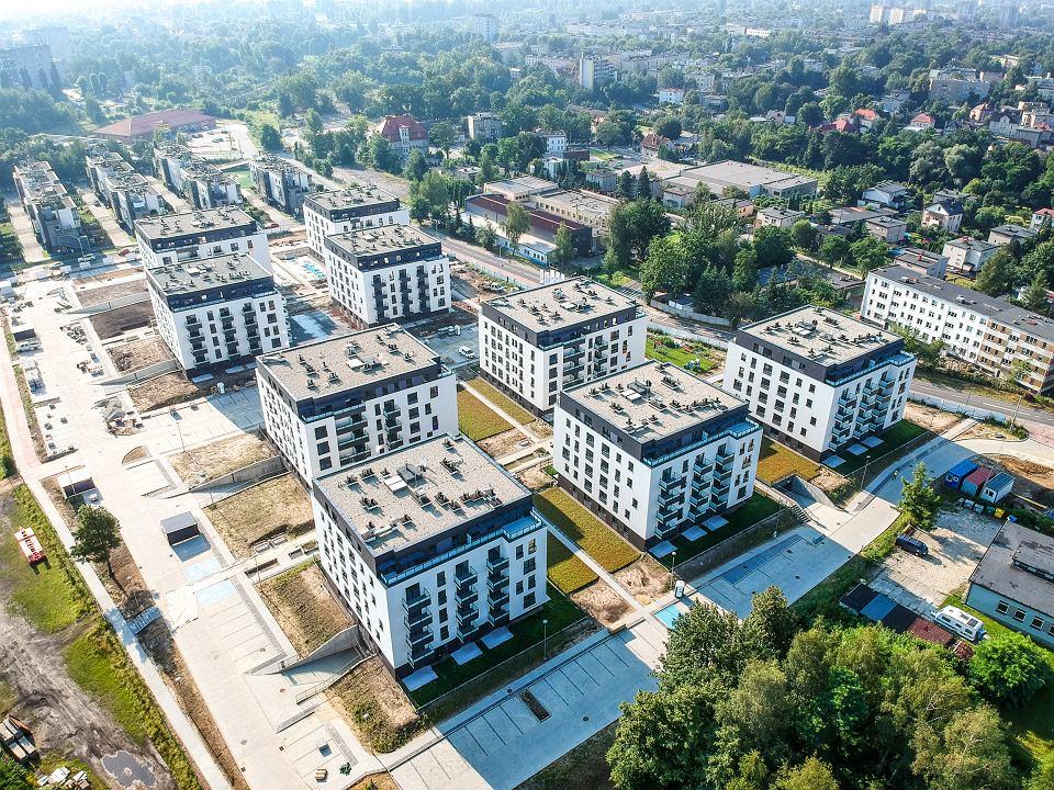 Budowa Osiedla Franciszkańskiego w Katowicach jest już niemal zakończona