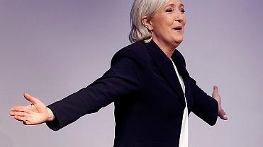 Kandydatka na prezydenta Francji Marine le Pen