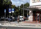 Przy ul. Kościuszki w Olsztynie drogowcy urządzają zieleńce kosztem kierowców parkujących na dziko