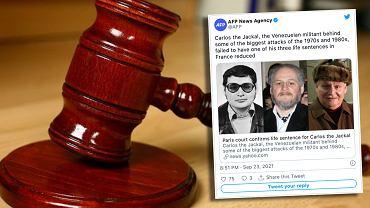Carlos Szakal ponownie skazany. Terrorysta odsiaduje wyrok potrójnego dożywocia