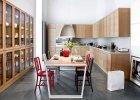 Wnętrza: drewniana kuchnia