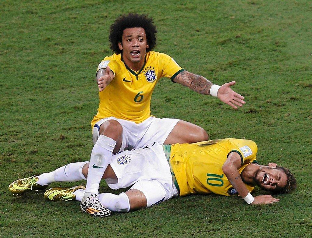 Marcelo i Neymar