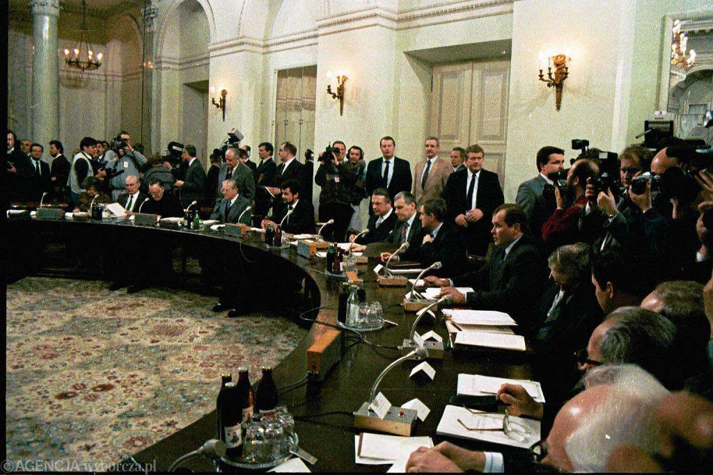 Posiedzenie plenarne na zakończenie obrad Okrągłego Stołu