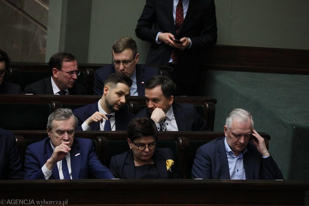 Debata o odwołaniu ministra sprawiedliwości Zbigniewa Ziobro