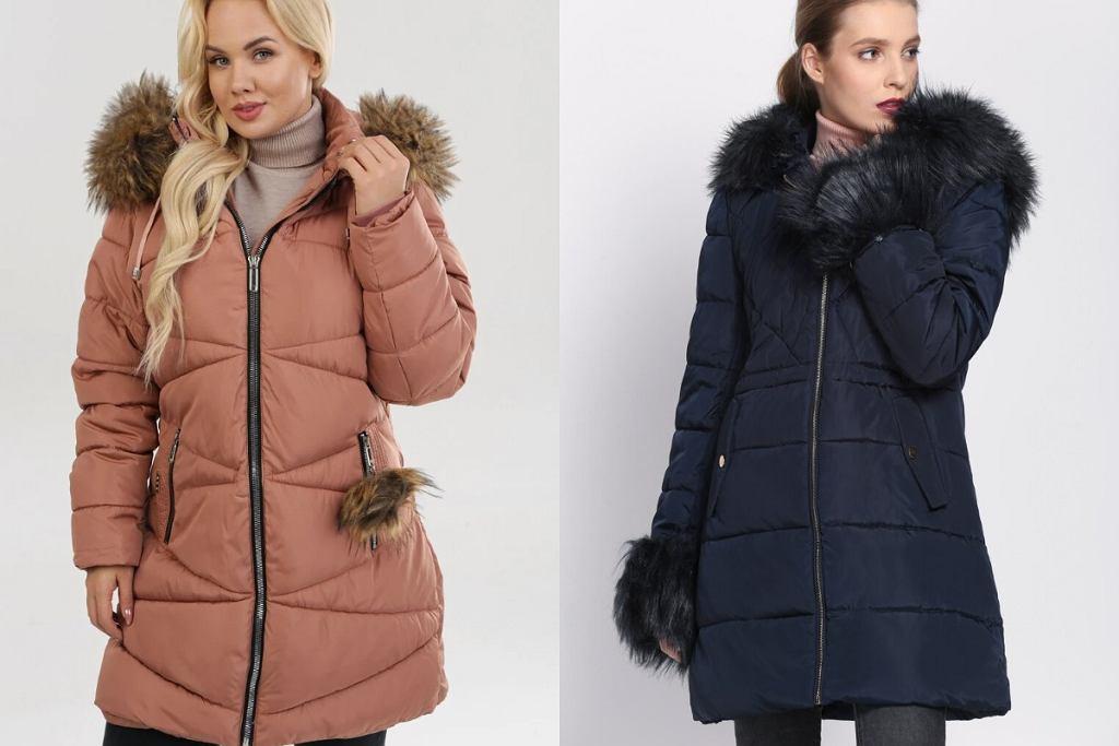 Długie kurtki na zimę