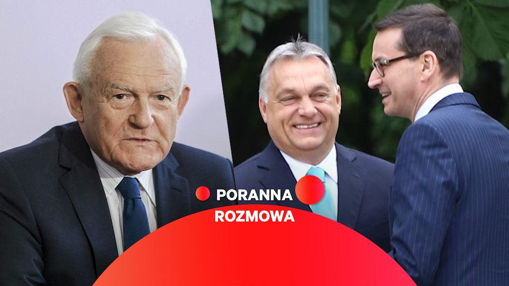 Leszek Miller gościem Porannej rozmowy Gazeta.pl