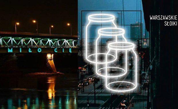 Warszawskie słoiki - neon (nie) dla Warszawy / fot. materiały prasowe