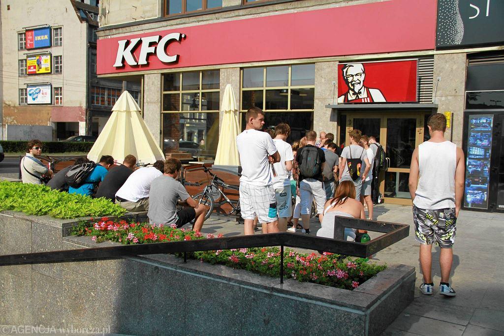 Restauracja KFC przy ul. Świdnickiej we Wrocławiu