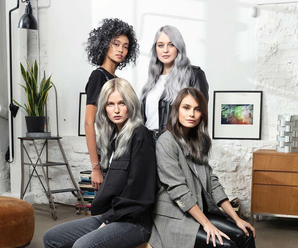 Siwe włosy 2019