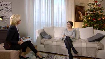 Ewa Kopacz prywatnie w rozmowie z Agatą Młynarską