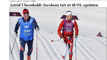 Astrid Jacobsen trenuje w Soczi