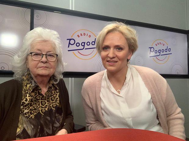 Stenia Kozłowska w Radiu Pogoda