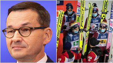 Mateusz Morawiecki zaanagażował się w sprawę zapewnienia Polakom startu w Turnieju Czterech Skoczni