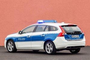 Volvo V60 Hybrid w niemieckiej policji
