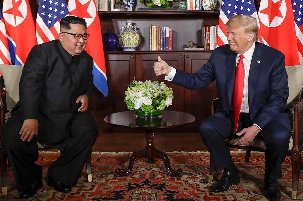 Spotkanie Donalda Trumpa z Kim Dzong Unem