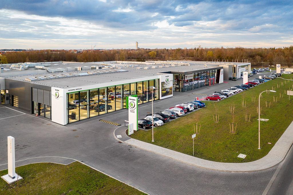 Nowy salon Skody firmy Motorpol Wrocław