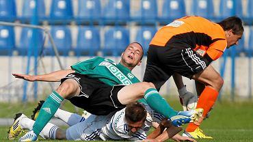 Ruch Chorzów w meczu z MFK Karvina (0:0) z 2013 roku
