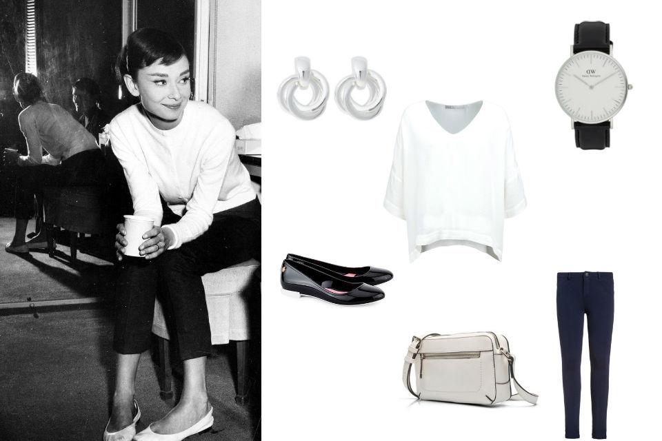 Styl Audrey Hepburn