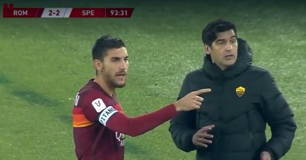 AS Roma - Spezia. Kuriozalna sytuacja