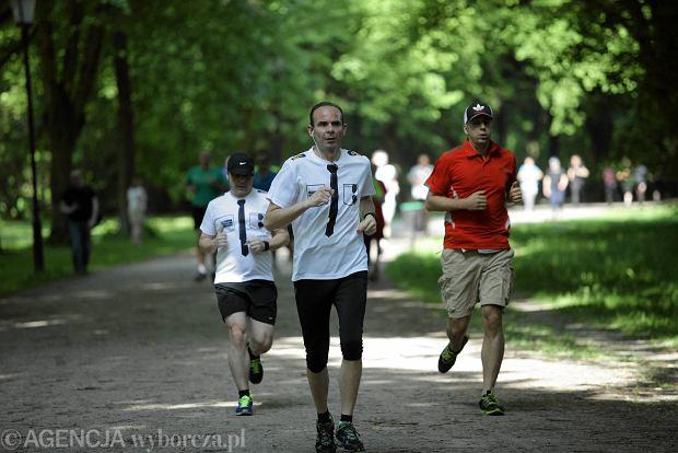24.05.2014 Lodz . Park Run Park Poniatowskiego Fot. Marcin Wojciechowski / Agencja Gazeta