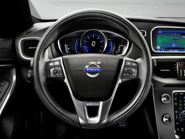 Volvo V40 - wnętrze