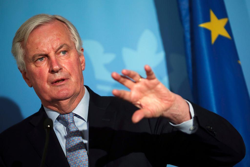 Michel Barnier, negocjator ds. brexitu z ramienia UE