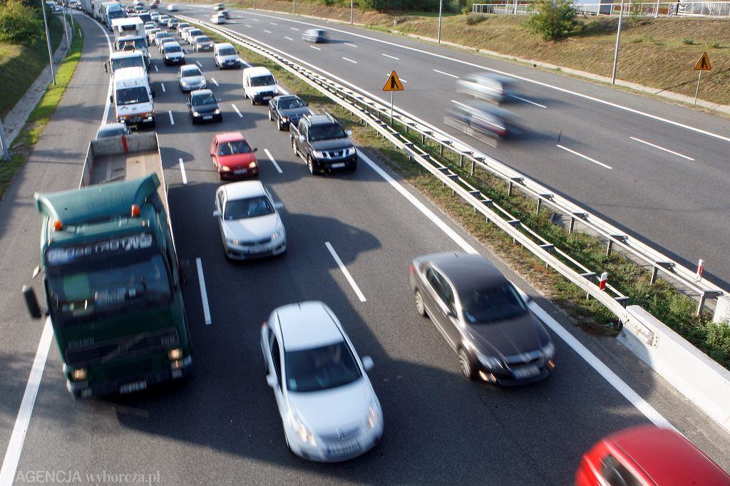 Małopolska. Karambol na A4, są utrudnienia / Zdjęcie ilustracyjne
