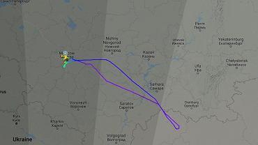 Boeing z 190 pasażerami na pokładzie będzie awaryjnie lądował w Moskwie