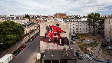Warszawa. Street Art Doping 2015