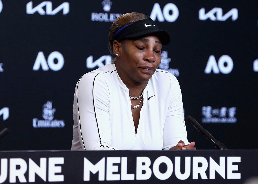 Australian Open 2021. Smutna Serena Williams podczas konferencji prasowej