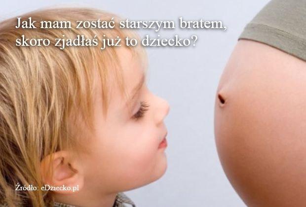 Mamo, zjadłaś dziecko!