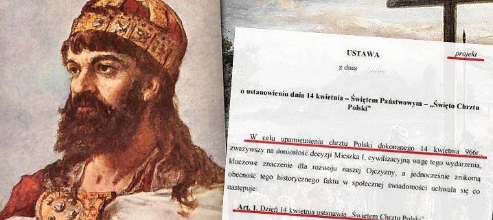 Święto Chrztu Polskiego jeszcze w tym roku? Decyzja w czwartek