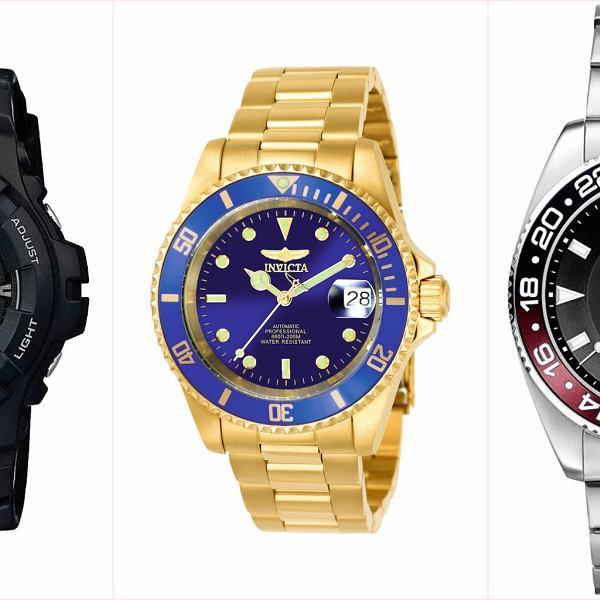 5 zegarkowych propozycji Logo: zegarki nurkowe