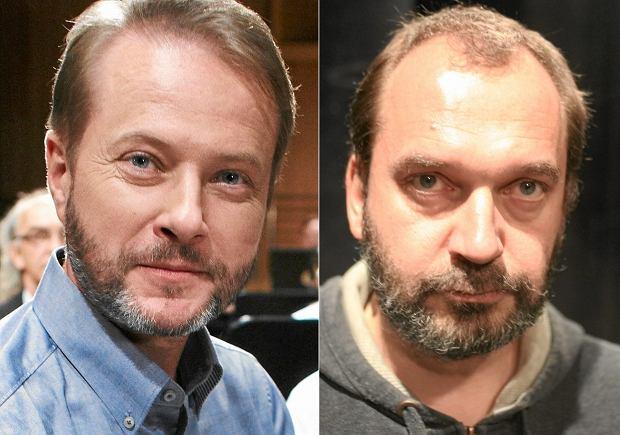 Artur Żmijewski (z lewej) i Artur Żmijewski (z prawej) - reżyser