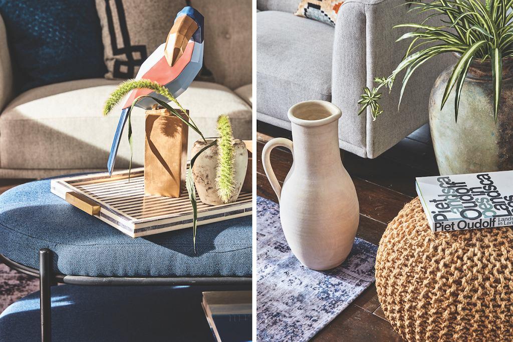 Krzesła, pufy, szafki, stoliki i inne drobne meble można znaleźć w ofercie marki TK Maxx.