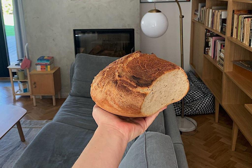 Olga Frycz upiekła chleb