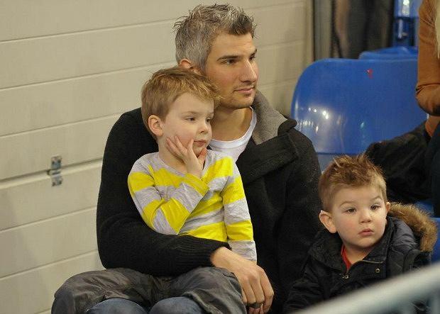 Rob Bontje z dziećmi