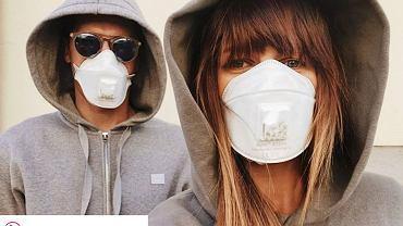 Anna Lewandowska z mężem apelują w maseczkach do fanów. 'Zmobilizujcie się'