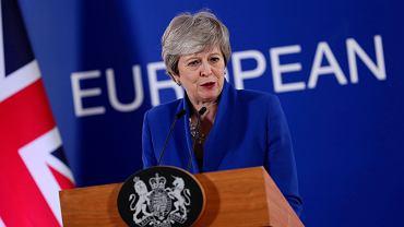 Premier Wielkiej Brytanii Theresa May.