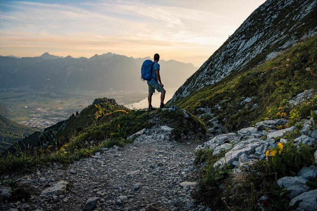 Na szwajcarskich trasach widoki zapierają dech w piersiach