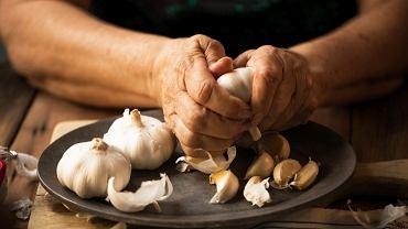 Czosnek od wieków stosowany jest jako naturalny lek przeciwbakteryjny