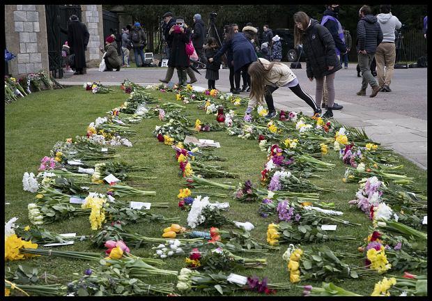 Żałoba po śmierci księcia Filipa